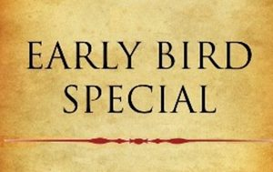 early bird special menu price