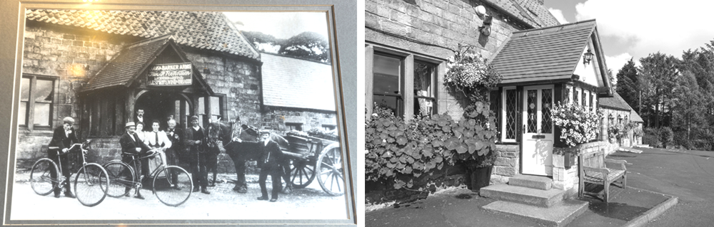 cook and barker then and now image